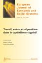 Couverture de l'ouvrage Travail, valeur et répartition dans le capitalisme cognitif (European Journal of Economic and Social Systems Volume 24 N° 1-2/Janvier-Décembre 2011)