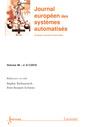 Couverture de l'ouvrage Identification de systèmes (Journal européen des systèmes automatisés RS Volume 46 N° 6-7 / Août-Novembre 2012)